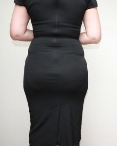 Black Reiss before back